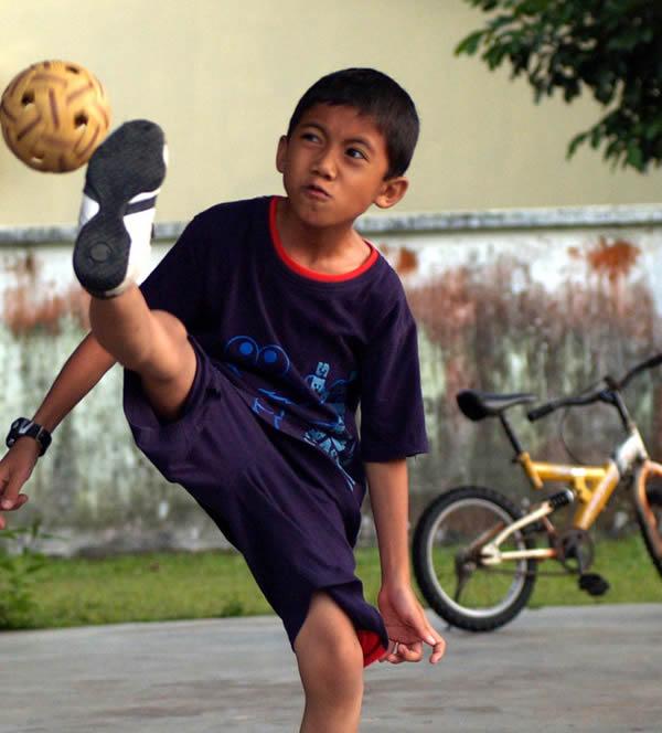 Sport Asiatique sepak takraw: un sport national asiatique