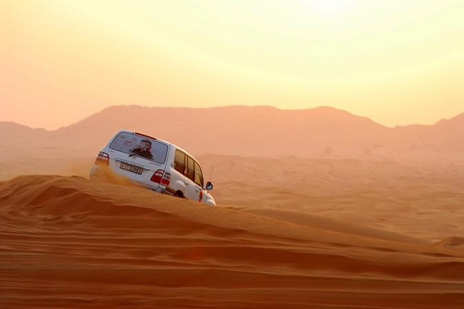excursions dans le désert Dubai